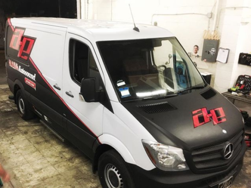 Al and Ed's Auto Sound Van Wrap