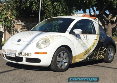 Luxe Realty Car Wrap