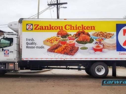 Zankou Chicken Food Truck Wrap
