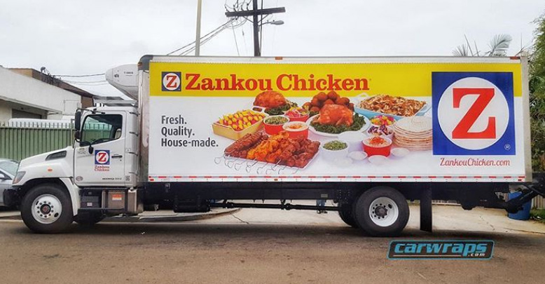 Zankou Chicken Food Truck Wrap Carwraps