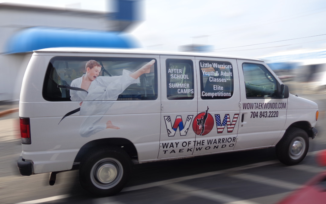 Make a big impression with vehicle graphics