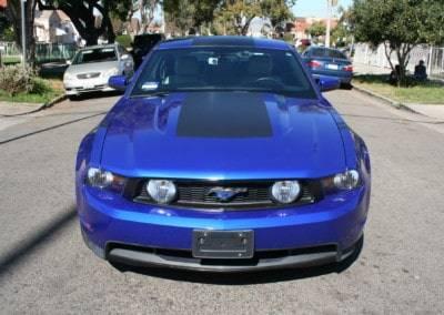 Mustang Car Wrap