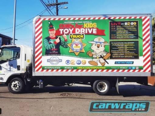 CBSLA Box Truck Wrap