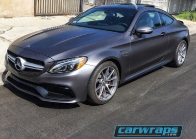 AMG C63 Custom Car Wrap