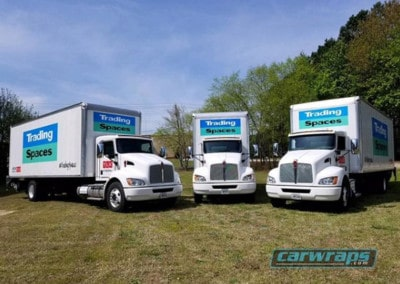 Trading Spaces Fleet Wraps