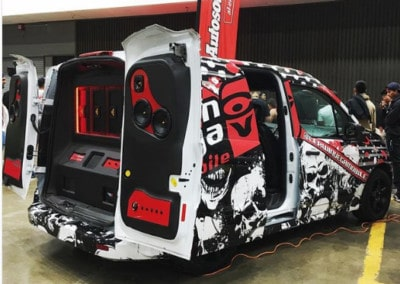 Cerwin Vega Mobile Vehicle Wrap