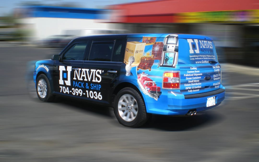 Interesting facts about vehicle wrap advertising