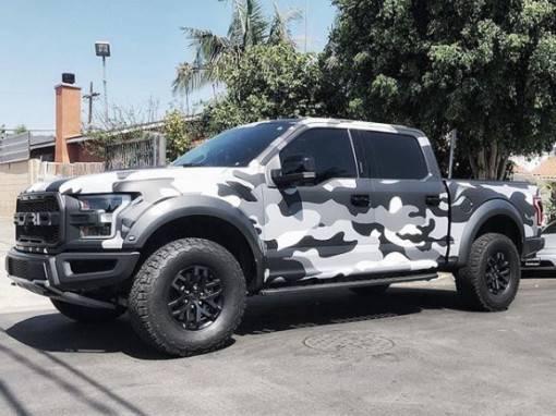 Raptor Truck Wrap
