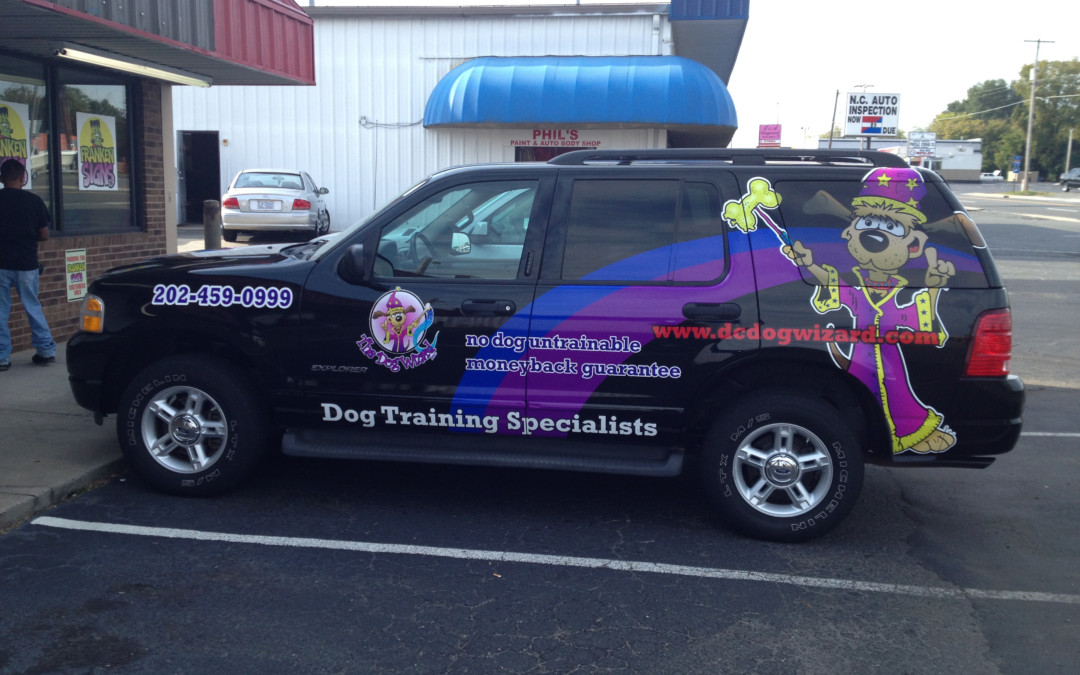 What makes a vehicle wrap pop?