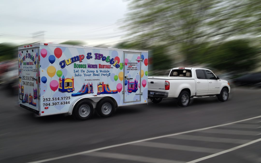 Vehicle graphics that hit the customer trail