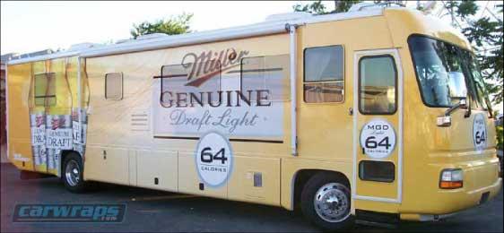 Miller Bus Wrap