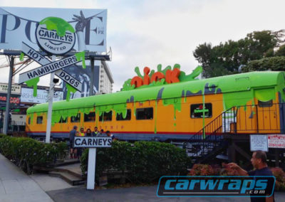 Carney's Custom Train Wrap