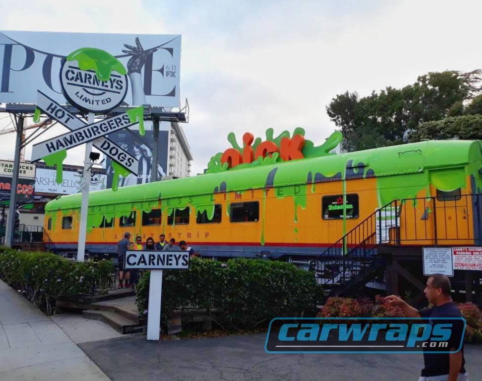 Carney's Custom Train Wrap