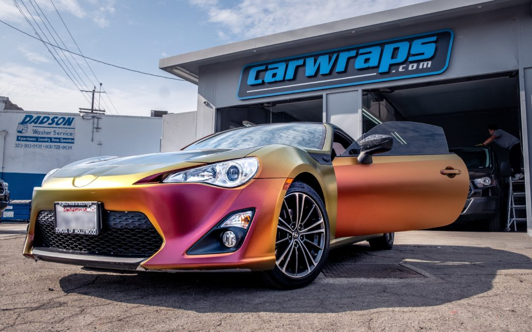 Top 4 car wrapping trends for 2020
